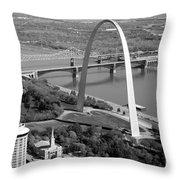 Gateway Arch Saint Louis Mo Throw Pillow