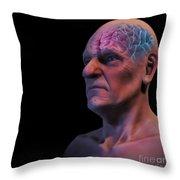 Geriatric Brain Throw Pillow