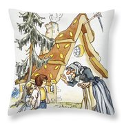 Grimm: Hansel And Gretel Throw Pillow