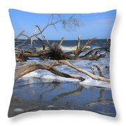 Hunting Island  Throw Pillow