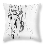 James Wolfe (1727-1759) Throw Pillow