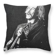 Jimmy Buffet 1975 Throw Pillow