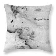 Joseph Warren (1741-1775) Throw Pillow