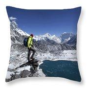 Khumbu Throw Pillow