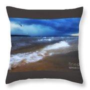 Lake Winnipesaukee Throw Pillow