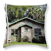 Limestone Home Throw Pillow
