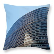 Lipstick Building Throw Pillow