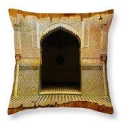 Medina Of Faz Throw Pillow by Catf