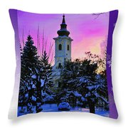 Christmas Card 21 Throw Pillow