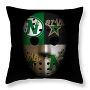 Minnesota North Stars Throw Pillow