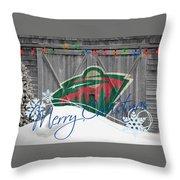Minnesota Wild Throw Pillow