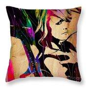 Miranda Lambert Collection Throw Pillow