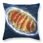 Mitochondrion Throw Pillow