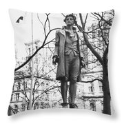 Nathan Hale (1755-1776) Throw Pillow