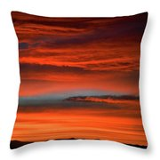 Nevada Skies Throw Pillow