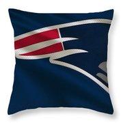 New England Patriots Uniform Throw Pillow