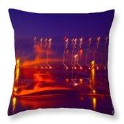 Newburgh Water Front Throw Pillow