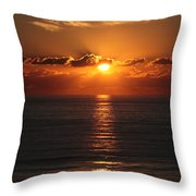 Ocean City Md Sunrise Throw Pillow