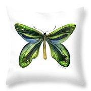 6 Queen Alexandra Butterfly Throw Pillow