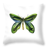 6 Queen Alexandra Butterfly Throw Pillow