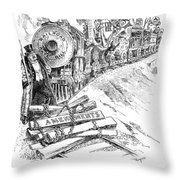 Roosevelt Cartoon, 1906 Throw Pillow