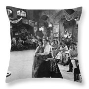 Rudolph Valentino Throw Pillow