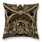 Saint Marys Orthodox Cathedral Throw Pillow