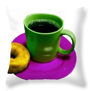 Saturday Morning Breakfast Throw Pillow