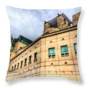 Secret Service Building London Throw Pillow