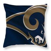St Louis Rams Uniform Throw Pillow