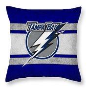 Tampa Bay Lightning Throw Pillow
