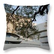 The Guggenheim Throw Pillow