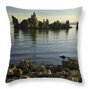Tufa Formations Throw Pillow