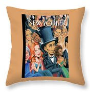 New Yorker February 25th, 2013 Throw Pillow