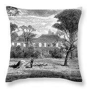 Washington: Headquarters Throw Pillow