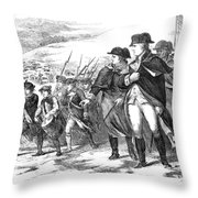 Washington: Valley Forge Throw Pillow