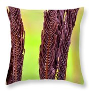Wilted Flower Throw Pillow by Tommytechno Sweden
