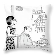 Yes, I Would Love You More If You Didn't Make Throw Pillow