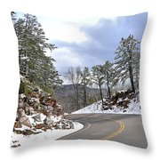 Route 60 Virginia Throw Pillow