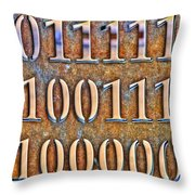 62 78 65 Throw Pillow