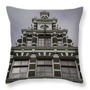 62 Damrak Amsterdam Squared Throw Pillow