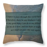 62- Inspiration Throw Pillow