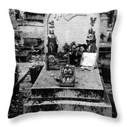 Pere-lachais Cemetery In Paris France Throw Pillow