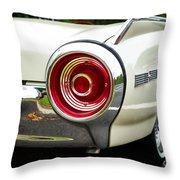 62 Thunderbird Tail Light Throw Pillow