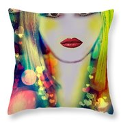 Britany  Throw Pillow