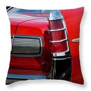 63 Pontiac Bonneville Throw Pillow
