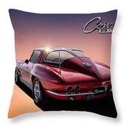 '63 Stinger Throw Pillow