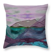 633 - A Dark Stormy Day   Throw Pillow