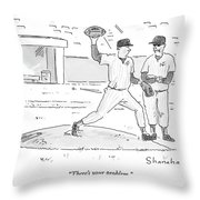There's Your Problem Throw Pillow