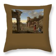 American Women - Country Music Throw Pillow